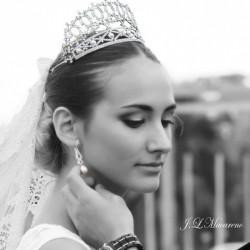 Tiara Imperial Roma - Silver & Swarovski