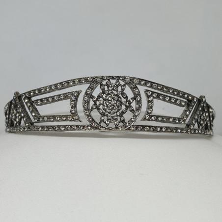 Tiara Capri, sterling silver & Swarovski