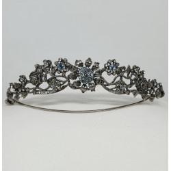 Tiara Primavera - Silver & Swarovski