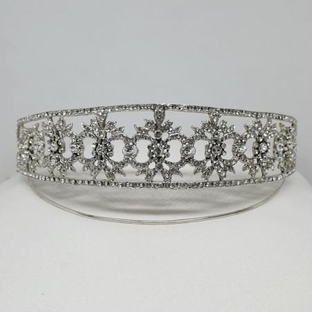 Tiara Versalles - Silver & Swarovski