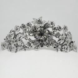 Tiara Alemania - Sterling Silver & Swarovski