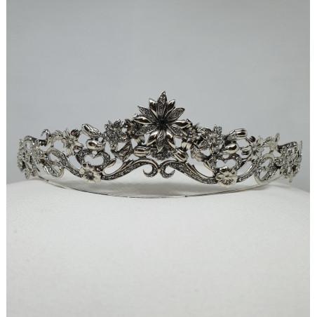 Tiara Hawai - Sterling Silver & Swarovski