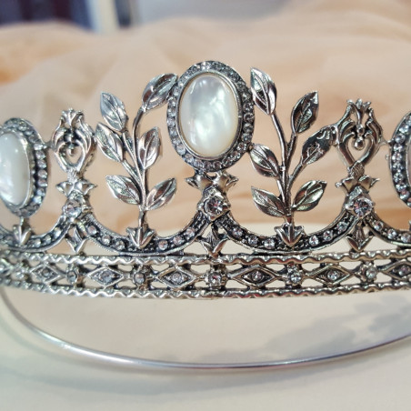 Tiara Rusia - Sterling Silver & Swarovski