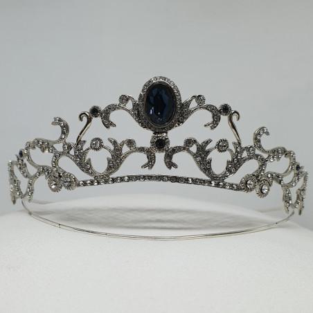 Tiara Bolena PQ. Sterling Silver & Swarovski